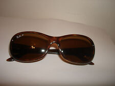 Vtg Original Ray Ban Polarized RB 4061 642/57 Made In Italy Tortoise Sunglasses