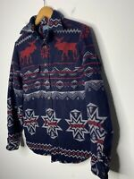 Polo Ralph Lauren Small Thick Shirt Aztec Indian Hunting RRL Navajo XS Reindeer