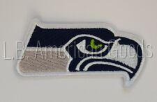 Seattle Seahawks Patch Aufnäher 9 x 4 cm NFL