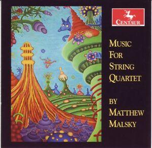 QX - Matthew Malsky: Music for String Quartet