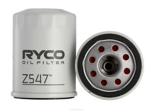 Ryco Oil Filter Z547 fits Honda Odyssey 2.4 (RB), 3.0 (RA)