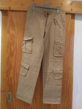 Pantalon treillis homme beige taille 30 NEUF
