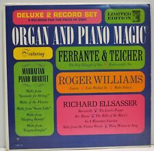 ORGAN AND PIANO MAGIC    Various Artists    Double Vinyl LP    MGM 2-E8    EX