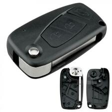 3 Button Car Key Fob Case Shell Replacement Flip Remote Cover Fit for FIAT Punto