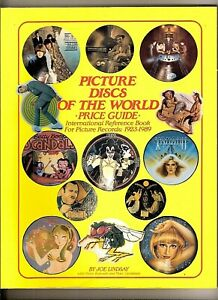 BOOK ' PICTURE DISCS OF THE WORLD ' PRICE GUIDE 1923 TO 1989