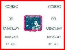 Paraguay 1961 Usa Space Achievements Imperforated S/S Mnh Cv$210.00