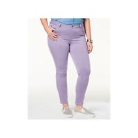 CELEBRITY PINK Women's Plus Trendy Purple Colored Skinny Jeans Sizes 14 - 24
