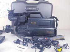 VHS Panasonic NV-M10B professional Video Camera camcorder + Case + BOOK + ETC