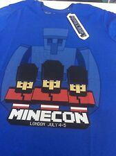MINECON 2015 JINX LONDON MINECRAFT MINE CRAFT EXCLUSIVE T SHIRT ADULT X LARGE