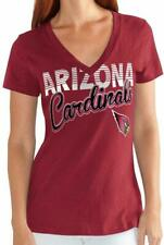 G-III 4her Arizona Cardinals Women's First Down V-Neck T-Shirt - Red