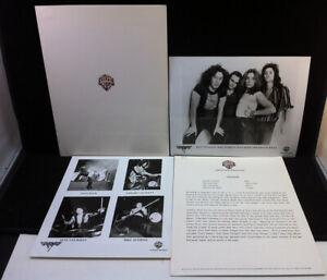 VAN HALEN First Albums 1977 Original Promo Press Kit With Photos