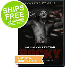 Rocky 4 Film Collection (DVD, 2014) NEW, Sylvester Stallone, Original, Mr. T