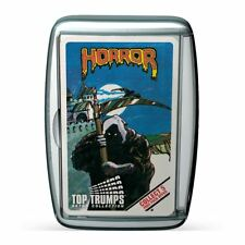 TOP TRUMPS RETRO LIMITED EDITION HORROR PACK 2 2017 CARD GAME BRAND NEW