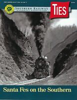 TIES: 1st Qtr 2019 issue of the SOUTHERN RAILWAY Historical Association -- (NEW)