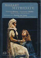 MOZART Mitridate DVD Opera de Lyon Theodor Guslibauer Yvonne Kenny Blake Putnam