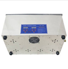 22L Digital Ultrasonic cleaner Heater free basket Jewelry Watches Dental  U