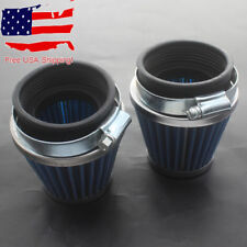 2x 54mm Air Intake Filter For Suzuki GS700 GS750 GS850 GS1000 GS1100 GS1150 POD