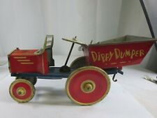Dippy Dumper Wind-Up Vintage Tin Toy Working - Marx Toys (1930s) GPB