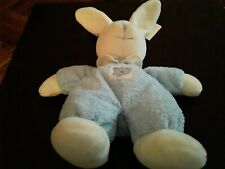 Bnwt Vintage Russ Cherished Moments Blue Nappy Baby Rattle