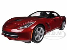 2014 CHEVROLET CORVETTE C7 COUPE METALLIC RED 1/24 MODEL CAR BY MAISTO 31505