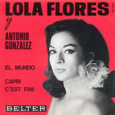 LOLA FLORES Antonio Gonzalez El Mundo SP Press Belter 07-261 EP