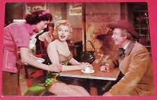 CPA CINEMA CARTE POSTALE MARILYN MONROE POSTCARD BUS STOP 105-021 1984 20th CFox