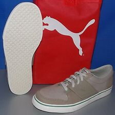 MENS PUMA EL ACE 2 CVS in colors PLAZA TAUPE / SILVER BIRCH IN BAG SIZE 11.5