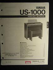 Yamaha Organ Keyboard US-1000 Service Repair Manual Schematics Parts List US1000