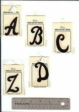 Vintage Felt Letters Packaged 12 Pc..your pick..Free Shipping USA