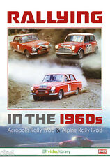 Rallying in the 60s DVD Paddy Hopkirk Roger Clark Erik Carlsson Timo Makinen NEW