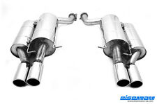 Eisenmann exhaust rear section for BMW E60 M5, 83mm tailpipes