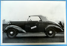 """12 By 18"""" Black & White Picture 1936 Chevrolet Roadster Top Up"""