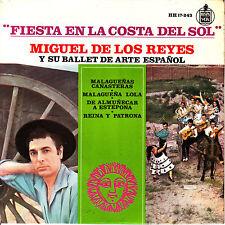 EP MIGUEL DE LOS REYES y su BALLET ARTE ESPAÑOL malagueñas canasteras SPAIN 1963