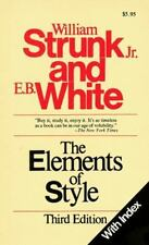 The Elements of Style (with Index) by William Strunk, Jr.; E. B. White