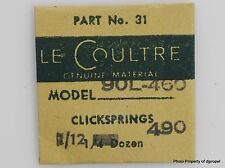 Jaeger LeCoultre Click Springs Cal.460 490 90L Part #430 31