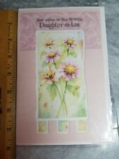 Daughter in Law Happy Birthday Greeting Card Novo Card