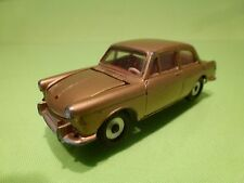 DINKY TOYS 144 VW VOLKSWAGEN 1500 - 1:43 - VERY RARE COLOR GOLD + RED INTERIOR