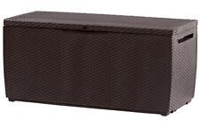 Caja de Almacenamiento de Plástico Keter Capri Al Aire Libre Muebles de jardín, 123 X 53.5 X 57 Cm