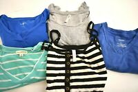 Lot of 5 Women's Small Multiple Brands 4 Tops & 1 Sleeveless Dress