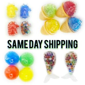 Stress Relief Fun Animal Food Squishy Squeeze Ball Fidget Toys Great Deal