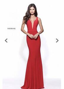 sherri hill red dress