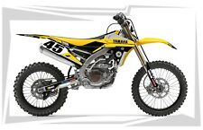 2014 2015 2016 2017 YAMAHA YZ 250F / YZ 450F GRAPHICS KIT MX DIRT BIKE DECAL