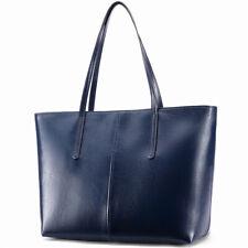 Stiya Designer Tasche Damen Handtasche Shopper Echteder Günstig Geschenk in blau
