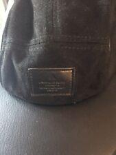 Mens Faux Leather Cap