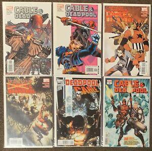 Cable & Deadpool #7,19,45,49,25,1 Marvel Comics Nicieza Captain America Deadpool