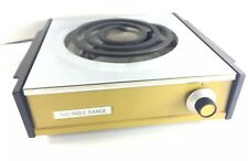Sears Portable Electric Table Range Hot Plate High Heat Burner Camping RV Vtg