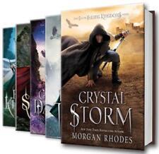 Morgan Rhodes FALLING KINGDOMS Young Adult Fantasy Series HARDCOVER Set 1-5