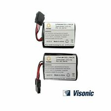 Visonic Siren Battery Twin Pack MCS-740 PowerMax Bell Box 2XER18505M, (2Pcs)