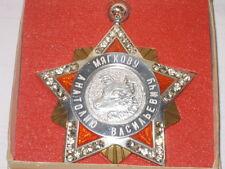 Big Soviet Russian Medal Metal Suspension Star Space Dogs Laika Belka Strelka