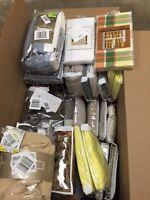 WINDOW TREATMENTS, Drapes, Curtains, Valances +$500 Value Wholesale Lot